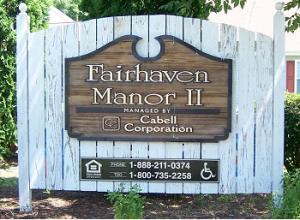 Fairhaven Sign